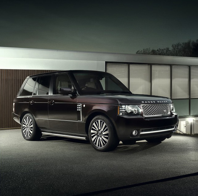 Land Rover представляє нову версію Range Rover Autobiography Ultimate Edition